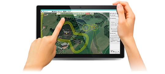 uav sensefly drones profesionales 01 landing ebeedron
