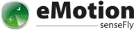 uav sensefly drones profesionales emotion3 logo